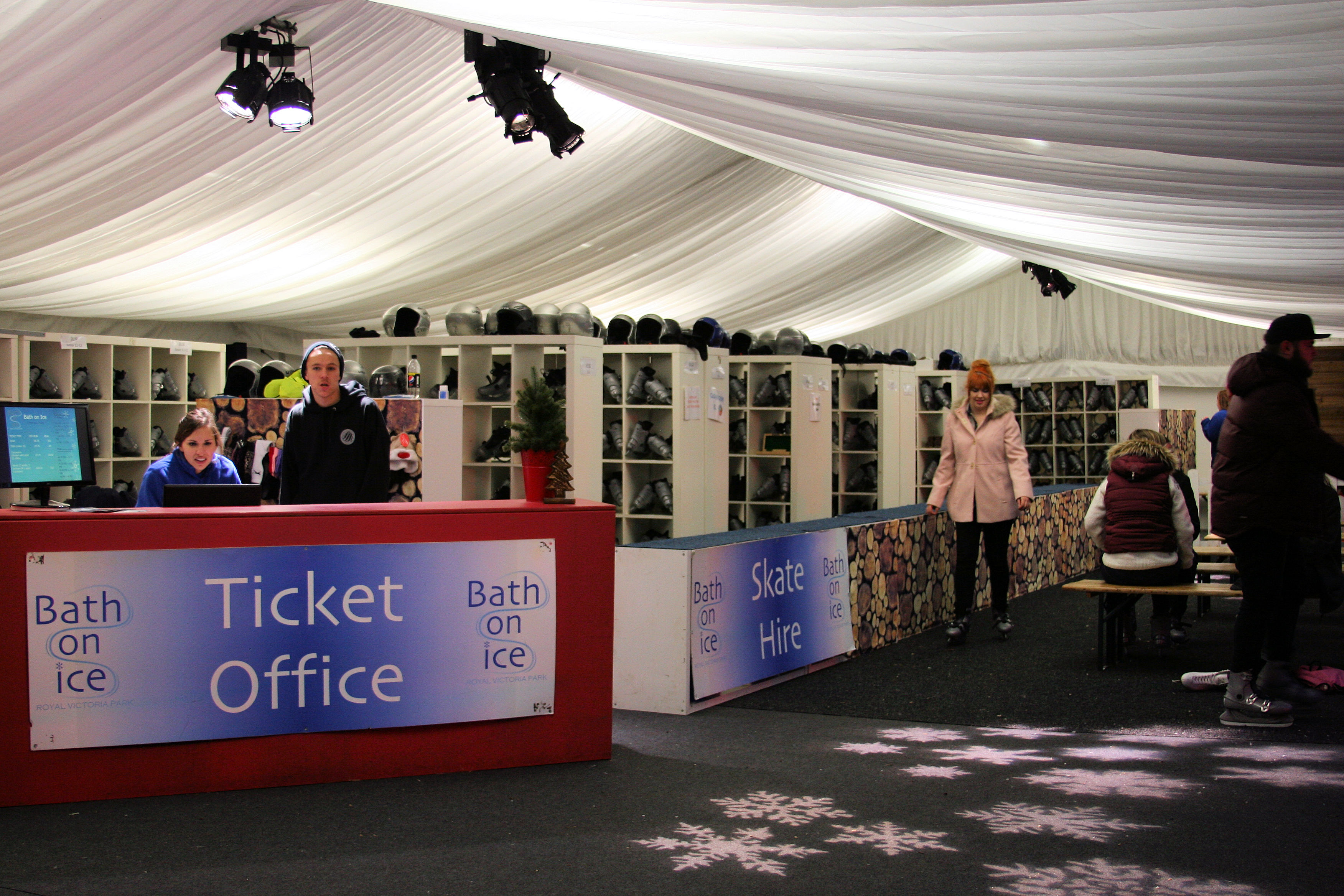 Bath on Ice Ticket Office Ice Skate Hire