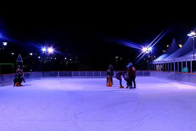 Bournemouth Rink, Ice Skating
