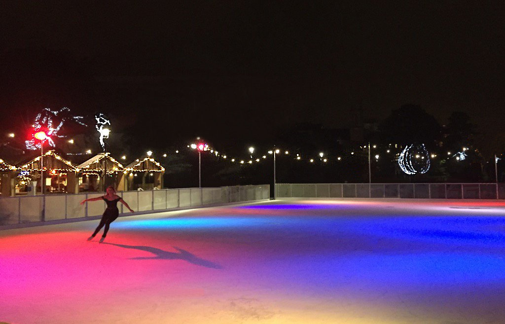 Bournemouth Ice Rink Lighting, Icescape