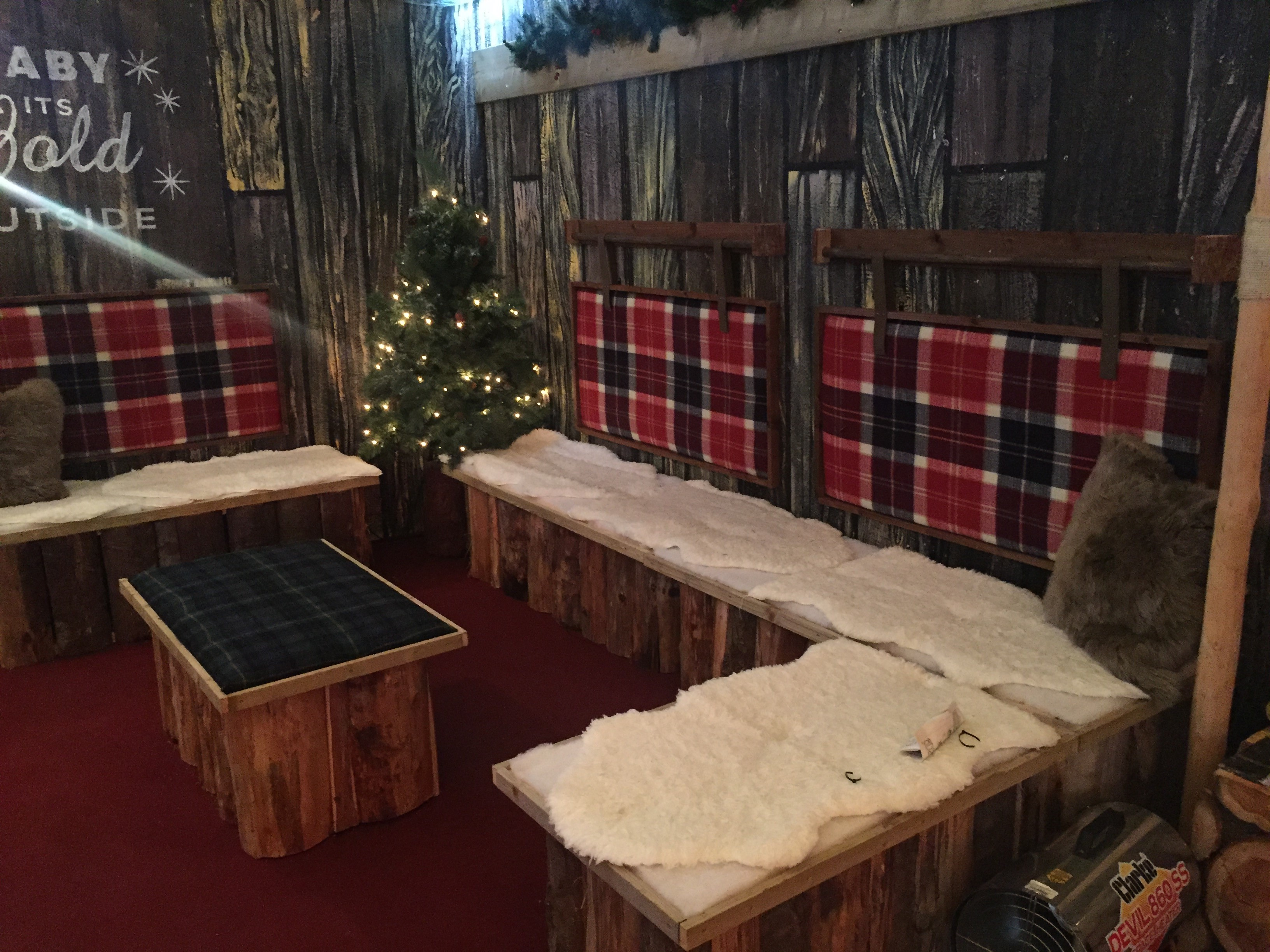 Apres Ski Chalet Seating, Bournemouth Ice Rink