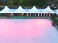 Aerial shot of Bath on Ice