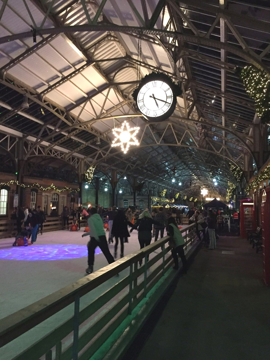 Port of Dover Ice Rink Night Lights