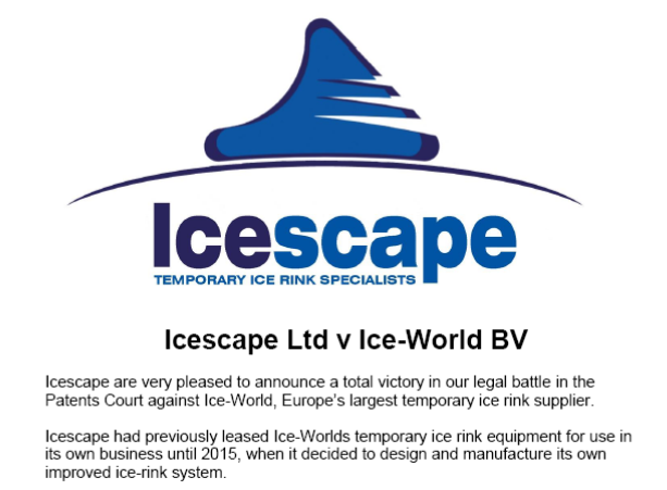 Icescape Battle