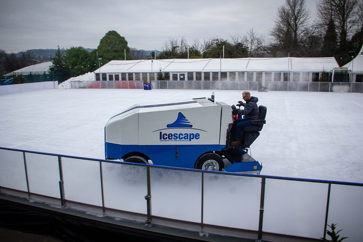Icescape Resurfacer at Bath on Ice