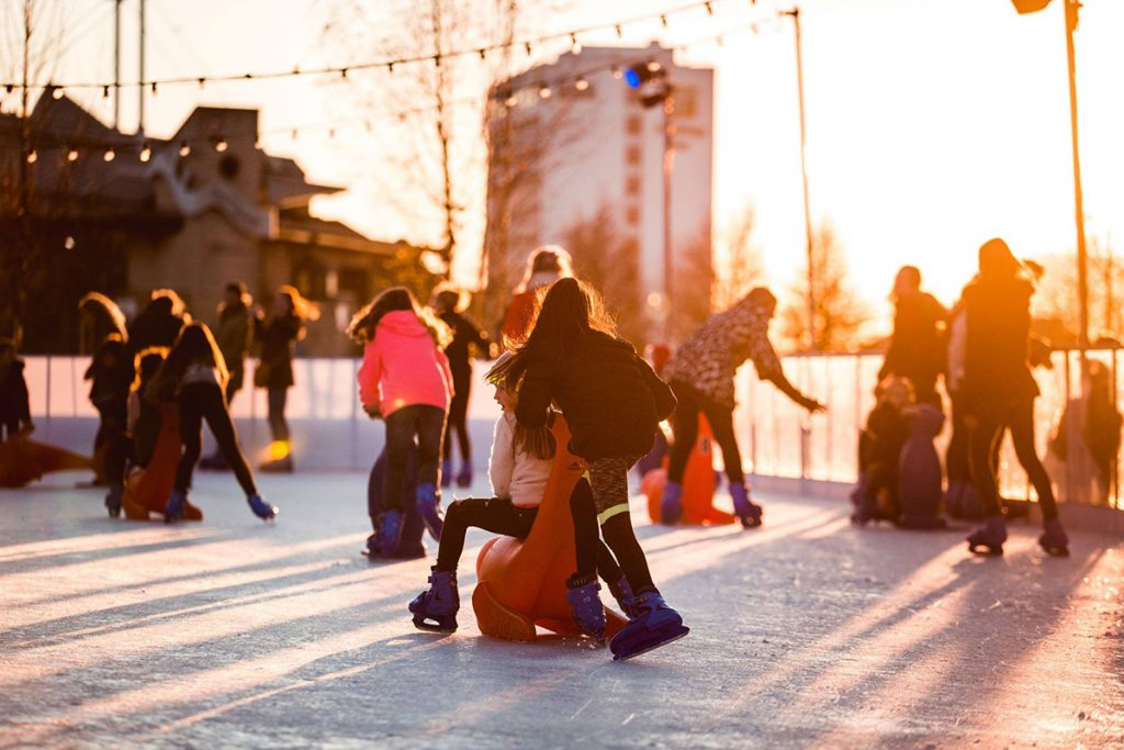 Skate Southampton at sunset